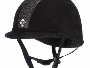 Selling: Charles Owen sparkly helmet