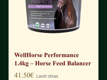 Selling: SS WellHorse Performance mineraal (terve 36€/poolik 20€)