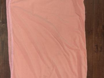 Selling: HKM roosa fliistekk 145cm