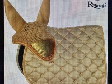 Selling: Uus kuldne/beeź COB valtrap + kõrvad